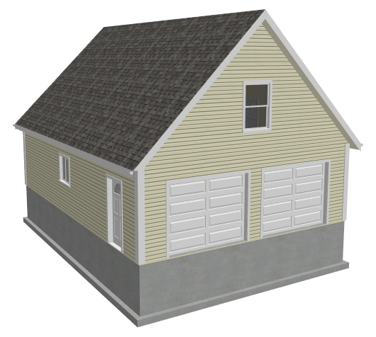 Garage Plans With Apartments – 32X40 Garage Plans