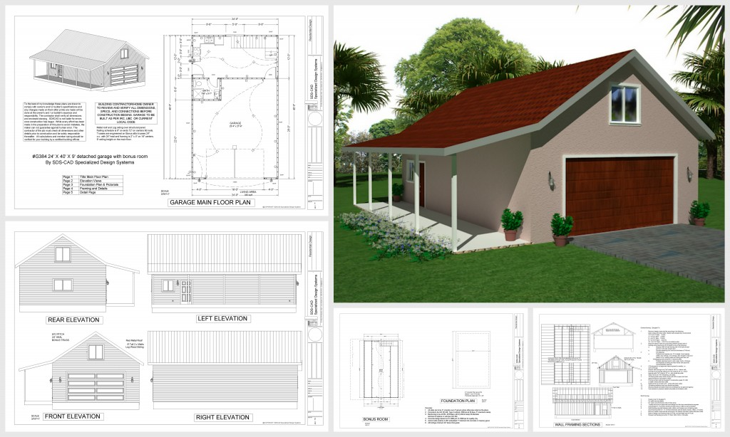 Easy to pole barn plans with living space gatekro Garage with living quarters floor plans