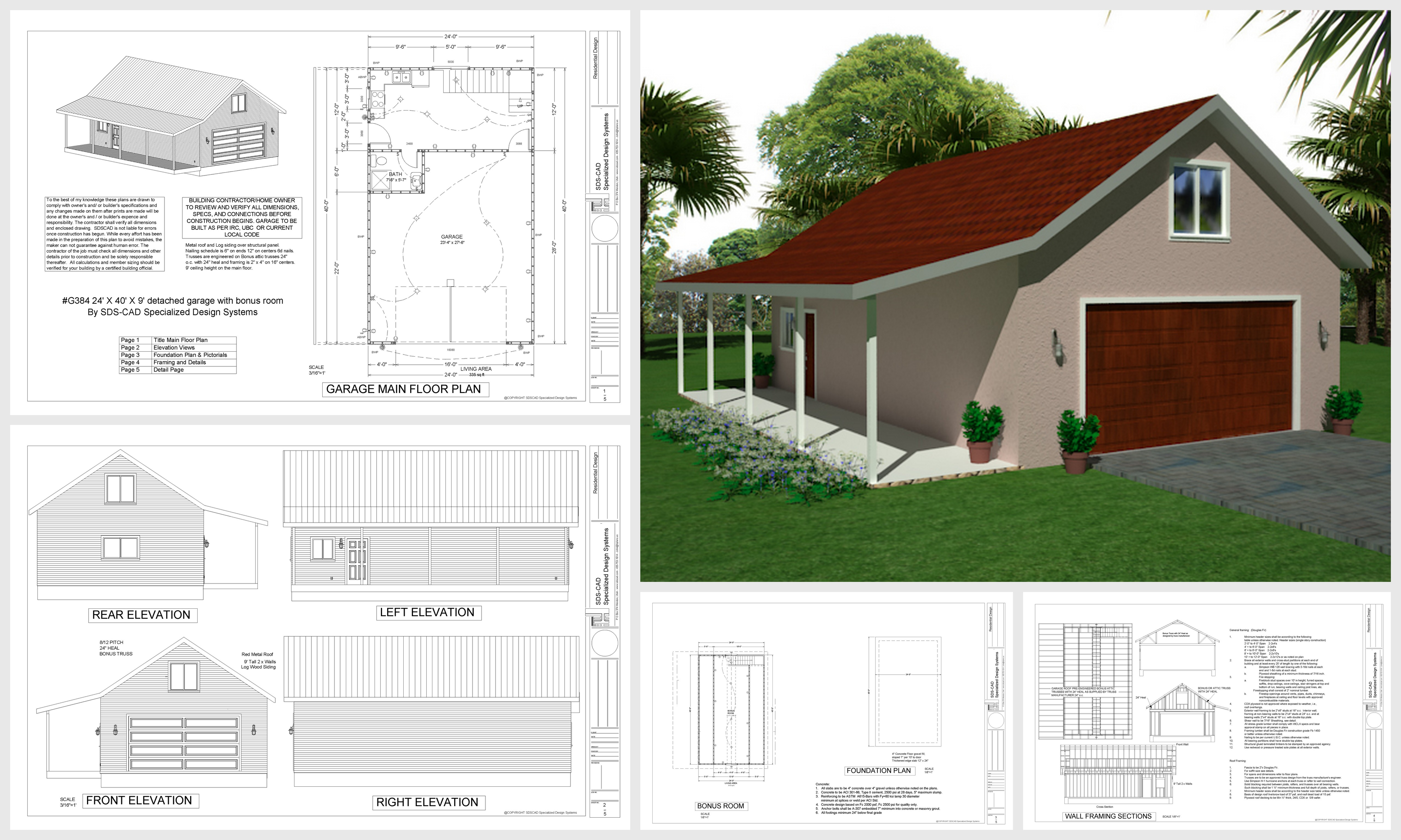 Superb 18 Free Diy Garage Plans With Detailed Drawings And Instructions Largest Home Design Picture Inspirations Pitcheantrous