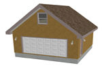 G430 garage with apartment plan
