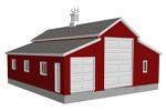 g450 garage with apartment plan