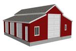 g471 garage with apartment plan