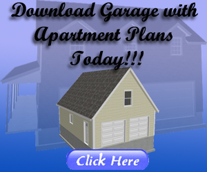 garage with apartment plans
