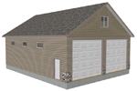 Detached Garage Plan